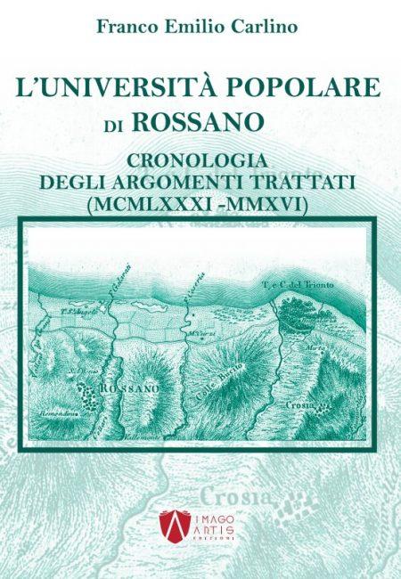 L'Università Popolare di Rossano - di Franco Emilio Carlino